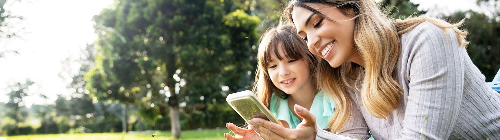 Rodzina i telefon